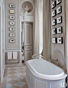 Bathrooms with Lanterns