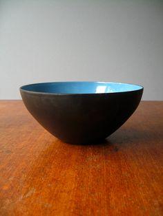 Danish Modern Krenit Bowl