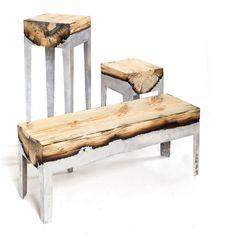 Aluminium And Wood