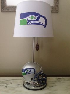 Football helmet lamp | For the Home | Pinterest | Football helmets ...