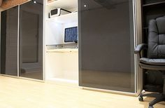 Workspace of the Week: Hidden in a closet | Unclutterer