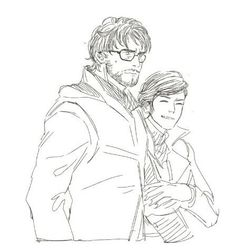 I didnt know I liked Corvo with glasses so much until now