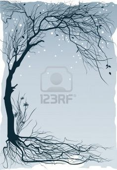 Tree With Roots Cliparts, Stock Vector And Royalty Free Tree With Roots Illustrations