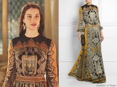 Etro Embellished Paisley-Print Silk-Jacquard Gown