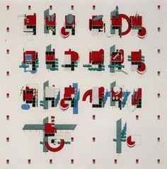 """Parc de la Villette / Bernard Tschumi A grid-based bundle of architectural events. One of my favorite sets of drawings. Bernard Tschumi's drawings for the """"Parc de la. Concept Architecture, Architecture Drawings, Architecture Design, Architecture Diagrams, Parc La Villette, Bernard Tschumi, Urban Design Concept, Deconstructivism, 3d Modelle"""