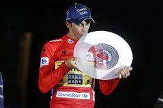 Vuelta a España 2014 - Stage 21: Santiago de Compostela (ITT) - blank 9.7km photos - Alberto Contador (Tinkoff-Saxo) & Trophy!