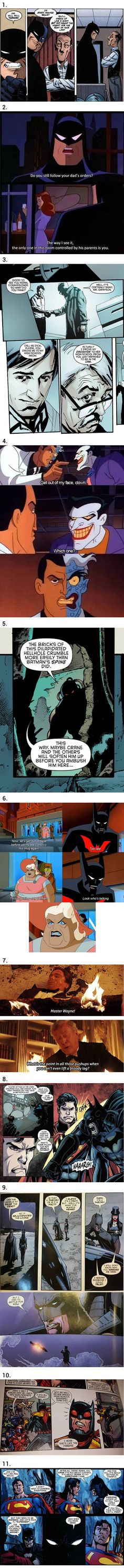11 of the Sickest Burns From the Batman Universe--Terry McGinnis ultimate sass master