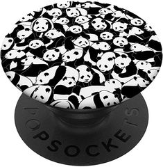 Amazon.com: Panda Bear Wildlife Animal Print Pattern PopSockets PopGrip: Swappable Grip for Phones & Tablets Panda Bear, Say Hello, Print Patterns, Phones, Wildlife, Animal, Amazon, Shopping, Amazons
