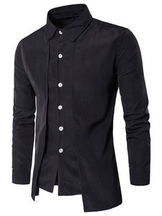 09ff15097ae Long Sleeve False Two-piece Shirt  fashion  clothing  shoes  accessories