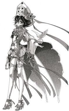 30 day anime challenge, day 18 - favourite supporting female character? Female characters are usually just half naked and too close to my male  crushes. So it took me some time to come up with one I don't dislike and I chose Seth Nightlord (Trinity Blood). It's one of my favourite animes and with few exceptions (I hope Catherina Sforza dies soon >_<) I kinda like even the female cast. Seth is the Methuselah empress and she's sweet, strong and kind, one of the few her brother Abel can rely…