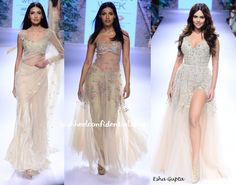arpita-mehta-lfw-resort-2015-esha Saree Gown, Indian Look, Resort 2015, Prom Dresses, Formal Dresses, Ethnic Fashion, Indian Outfits, Gowns, Sarees