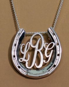 Loriece is known for their fabulous equestrian jewelry pieces, and when I stumbled upon their LG Horseshoe Monogram necklace, I knew I had to share! Equestrian Jewelry, Horse Jewelry, Western Jewelry, Equestrian Style, Jewelry Box, Jewelery, Jewelry Accessories, Horse Necklace, Horseshoe Necklace