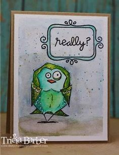 Diary of an Inky Girl…: Inktense Pencils and Bird Crazy