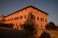 Sunset over the villa at Catignano. All Rights Reserved GUIDI LENCI www.guidilenci.com