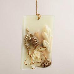 One of my favorite discoveries at WorldMarket.com: Vanilla Bean Wax Sachet