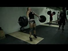 ▶ CrossFit - Lindsey Valenzuela snatches 200 pounds - YouTube  Unreal