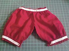 Costure as calças da boneca