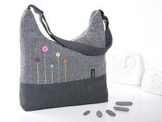 """AllesDrin - Tasche """"Knopfblümchen"""" von julejuch auf DaWanda.com"""