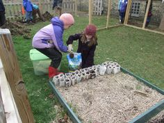 Our 2014-15 3rd grade students started work in Tamarack's garden! We're all looking forward to new growth and summer.