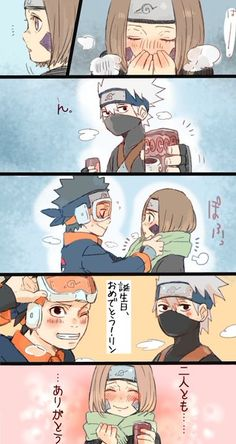 This is so cute <3 #teamMinato