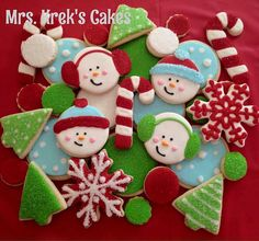 Christmas Cookie Set Mrs Kreks Cakes Cookies Gallery