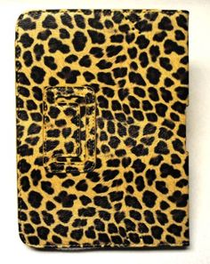 """Ooki (TM) Gold Leopard Amazon Kindle Fire HD 7"""" Leather Case by Ooki. $14.99. synthetic leather case for the Amazon Kindle Fire HD 7"""""""
