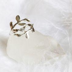 Eden - Leaf Ring – Druzy Dreams