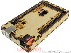 Case para Arduino Mega em MDF