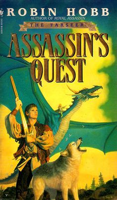 Assassin's Quest (Farseer Trilogy by Robin Hobb Robin Hobb, Sci Fi Books, Cool Books, My Books, Fantasy Book Covers, Fantasy Books, Fantasy Art, Farseer Trilogy, Books