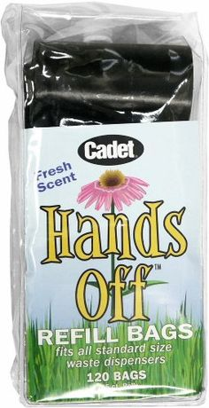 Hands Off Refill Bags (120 Count) -- You can find more details by visiting the image link. (This is an affiliate link and I receive a commission for the sales)