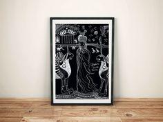 """Digitaldruck - Artprint """"Iphigenie bei den Taurern"""" - ein Designerstück von designkind_de bei DaWanda"""
