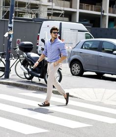 Street Style for a man, Mariano DI Vaio for Brunello Cucinelli