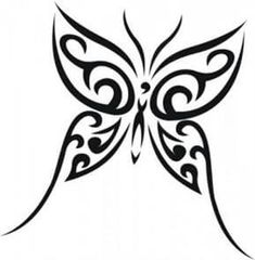 Illustration about Butterfly tribal tattoo - vector illustration. Illustration of decor, tribal, butterfly - 10048273 Hawaiianisches Tattoo, Tattoo Tribal, Tribal Butterfly Tattoo, Butterfly Drawing, Butterfly Tattoo Designs, Tattoo Outline, Butterfly Design, Butterfly Outline, Samoan Tattoo