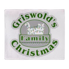 Griswold Christmas Throw Blanket Funny #Cat in #ChristmasLights #Griswold Family Christmas on shirts hoodies and lots of products For this design Click Here -- http://www.cafepress.com/dd/93882204