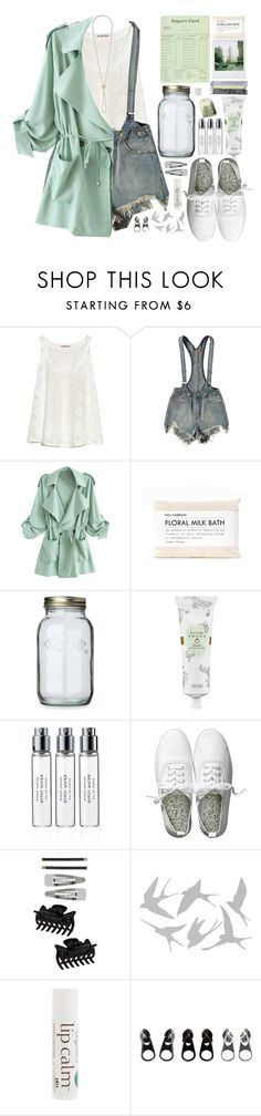 """""""a drop in the ocean, a change in the weather, i was praying ,that you and me might end up together"""" by centurythe ❤ liked on Polyvore featuring See by Chloé, UNIF, Kilner, Polaroid, Tocca, Byredo, H&M, Dorothy Perkins, Universal Lighting and Decor and John Masters Organics"""