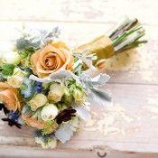 Peach-and-Light-Blue-Bouquet