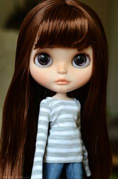 OOAK Blythe Custom Doll Katie by Odd Doll by OddDollShop on Etsy