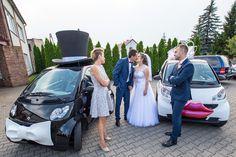Aga i Staś www.smart-line. Crazy Wedding, Wedding Car, Smart Car, Aga, Funny, Funny Parenting, Hilarious, Fun, Humor