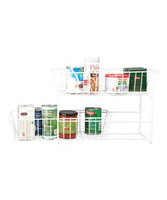 Loving this Large Slide-Out Organizer on #zulily! #zulilyfinds