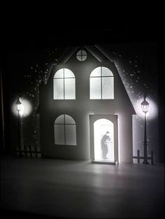Light paper theatre.