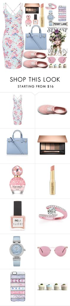 """Untitled #1573"" by anarita11 ❤ liked on Polyvore featuring Vans, Kurt Geiger, Marc Jacobs, Napoleon Perdis, ncLA, KAROLINA, Allurez, OMEGA, Oliver Peoples and Casetify"
