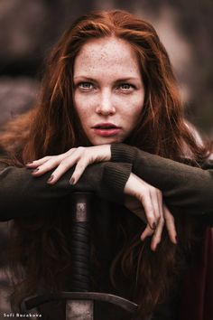 Soarise the celtic witch who was the first leader of the clans. Her lover Enoch was murdered by her sister, this drove her to give up her earthly form which brought the curse on the family