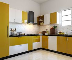 Modular Kitchen - Interior Designers in Bannerghatta Road Purple Kitchen Decor, Kitchen Design Color, Modular Kitchen Cabinets, Small Kitchen Decor, Kitchen Cupboard Designs, Kitchen Furniture Design, Kitchen Room Design, Kitchen Modular, Kitchen Design Plans