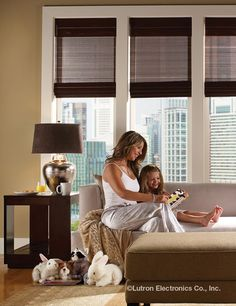 Wireless shades can add a modern touch to any home. Why not explore your options? Motorized Shades, Honeycomb Shades, Roller Shades, Window Coverings, Blinds, Touch, Explore, Living Room, Lighting