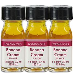Banana Cream Flavoring Oil from Layercakeshop.com