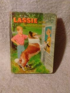 Lassie and the Secrets of the Summer by Dorothea J. Snow ( 1958 hardcover)