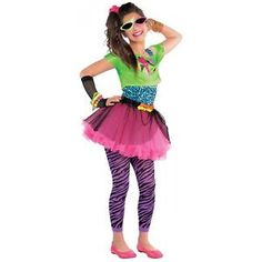 80s Costume Kids Valley Girl Halloween Fancy Dress  $27.39  $38.49  (7 Available) End Date: Nov 012016 07:59 AM GMT-07:00