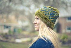 colorwork hat knit by platinumblonde on ravelry