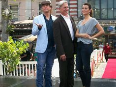 Cote De Pablo And Michael Weatherly | alyssinmymind:Michael Weatherly, Cote de Pablo, Mark Harmon at The ...