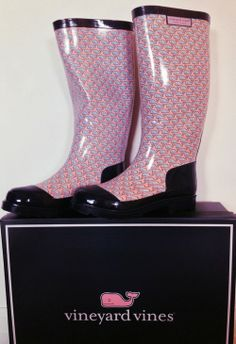 Vineyard Vine Rainboots